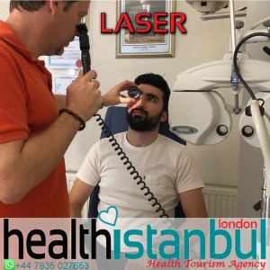 Does pain occur during laser treatment?